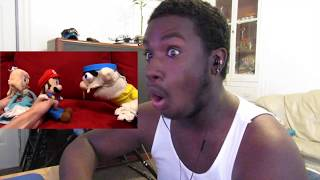 OH GAWD! SML Movie: Jeffy Sneaks Out! [REACTION]