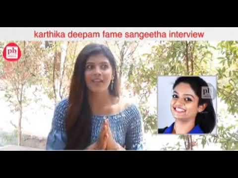 Karthika Deepam fame Sravya ( Sangeeta Kamath) interview