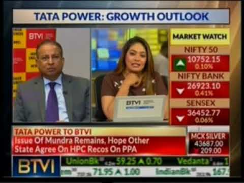 Mr. Praveer Sinha, CEO & MD, Tata Power interaction with BTVi