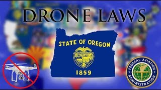 Where Can I Fly in Oregon? - Every Drone Law 2019 - Portland, Salem, and Eugene (Episode 37)