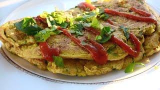 Веганство  ОМЛЕТ БЕЗ ЯИЦ ☀️ ВЕГАНСКИЕ РЕЦЕПТЫ ☀️ Vegan Omelette Recipe