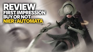 Nier Automata Review PS4 - First Impression (Buy Or Not - Performance Analysis)
