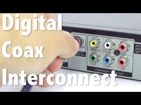 S/PDIF Digital Coax Interconnect Cable - High Quality Audio For Your Home Theater