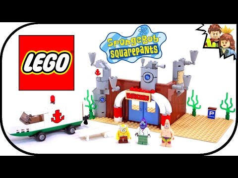 Vidéo LEGO Bob l'éponge 3832 : The Emergency Room