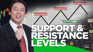 Identifying Support & Resistance Levels in Stock Trading Charts by Adam Khoo