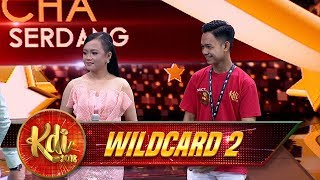 Duet Manjiaah Abi & Echa ciee  - Gerbang Wildcard 2 (4/8)