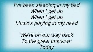 Evermore - The Great Unknown Lyrics