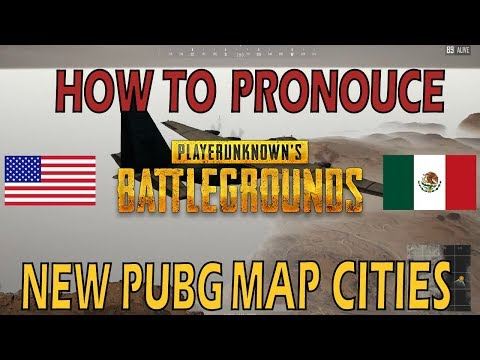 How to Say NEW PUBG MAP City Names – PUBG 1.0 Update