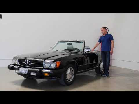 Video of '89 560SL - NFPO