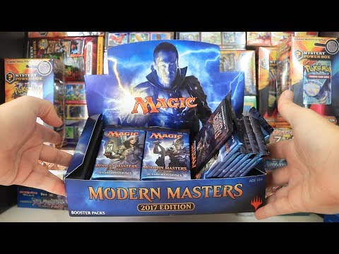Opening a Modern Masters 2017 Booster Box – PART 1/2 – Magic The Gathering