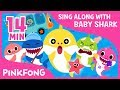 The Shark Family and more | Sing along with baby shark | Pinkfong Songs for Children