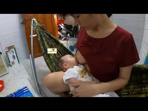 Breastfeeding baby thinh 55 days old - Part 2.