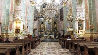 preview picture of video 'Cathedral of St. John the Baptist and the Evangelist, Lublin, Lublin Province, Poland, Europe'