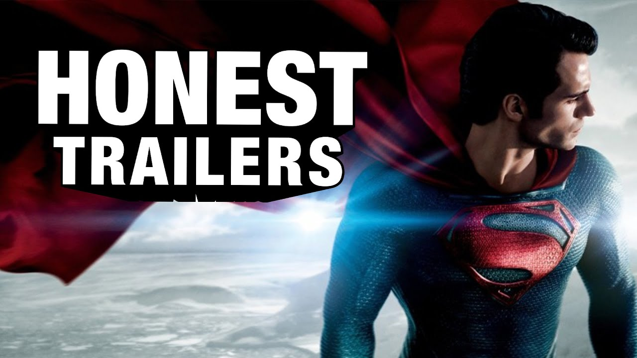 Man Of Steel Gets The Honest Trailers Treatment