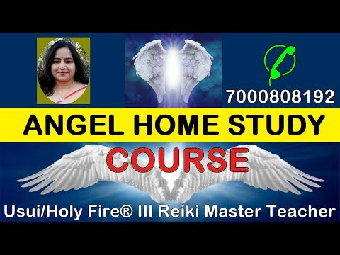 Angel Home Study Course घर बैठे सीखें ANGEL कोर्स |{ANGEL THERAPY }{ONLINE ANGEL HEALING COURSE}
