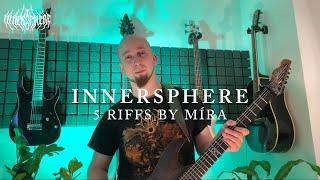 Video INNERSPHERE - 5 riffs by Mira Litomericky - Omfalos [guitar play