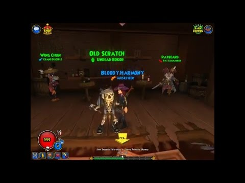 Pirate101 Companion Promotions - Old Scratch - First