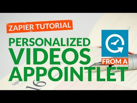 How to Create Personalized Videos from Appointlet Leads