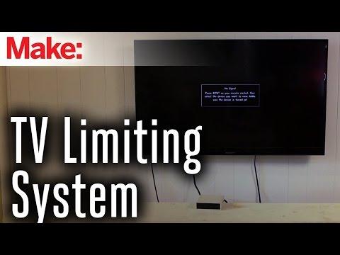 DIY TV Limiter Ensures You Aren't Binge Watching For Too Long