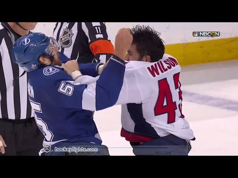 Tom Wilson vs Braydon Coburn