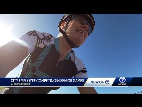 Woman kicks off first year competing in Nat'l Senior Games