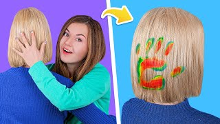 13 Brilliant Hair Hacks and Tips / Funny Hair Pranks!