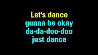 Just Dance Lady Gaga Feat. Colby O'Donis Karaoke   You Sing The Hits