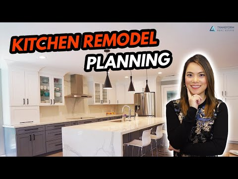 How to Plan a Kitchen Renovation Step by Step - Kitchen Remodel Tips, Budget, Layout & Design