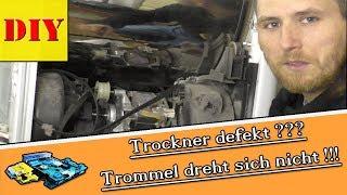 Wäschetrockner - Trommel dreht nicht. Riemen wechseln (Bosch/Siemens/Bauknecht/Whirlpool/Privileg)