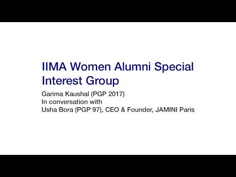 In Conversation With: Usha Bora (PGP 97), CEO & Founder, JAMINI Paris
