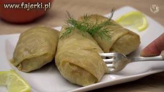 Cabbage Rolls / Polish Gołąbki - Easy to Follow, Step by Step Tutorial