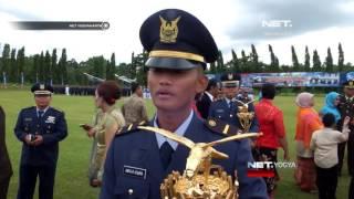NET YOGYA - Kepala Staff TNI Angkatan Udara Lantik 22 Penerbang Muda