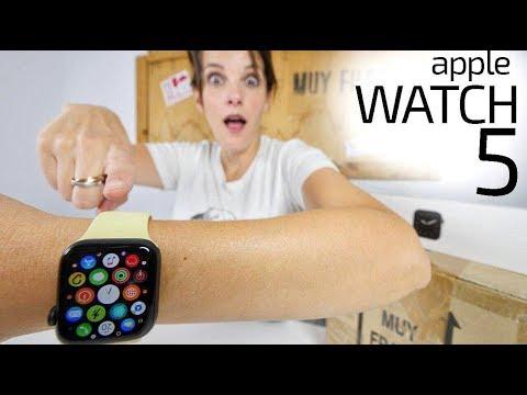 Apple Watch Series 5 -nunca DUERME-