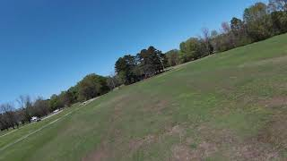 DJI FPV first Flight in Normal Mode and Sport Mode