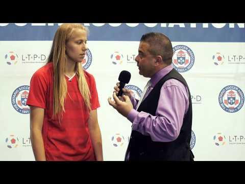 U20 Women's National Team Rebecca Quinn Interview