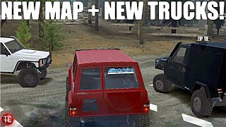 SpinTires MudRunner: NEW Nissan Patrol Wagon + NEW MAP! Multiplayer w/ Surge & Zip