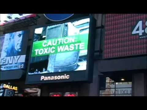 Panasonic Pwnd On Their Own Times Square TV
