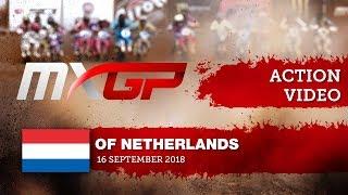 Jeffrey Herlings battles with Antonio Cairoli - Race 2 - MXGP of the Netherlands...