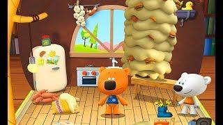 Мишки. Ми-ми-мишки. Несовременная Еда-Суперблюдо для Тучки. Развивающее Видео с Кешей и Тучкой
