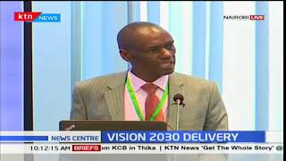 Vision 2030 secretariat holds a press conference with regards to water and sanitation