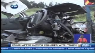 Six People Die In An Accident Along Nairobi Nakuru Highway