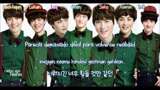 EXO - Christmas Day (Korean Version) [ Sub Español /Romanizacion/Hangul] (Color Coded)