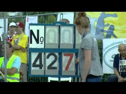Finland Sets Record At Its Own Crazy Phone-Flinging Competition