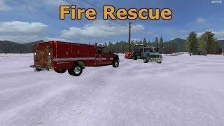 Farming Simulator 17 | Fire Rescue | FS 911 Ep | .6