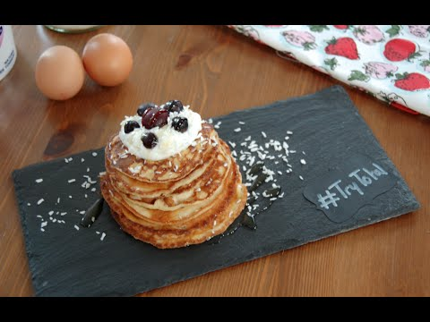 Video Total Greek Yoghurt Healthy Pancake Recipe