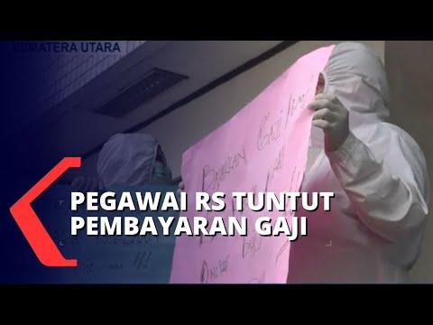 Lagi, Tenaga Medis di Medan Unjuk Rasa Tuntut Gaji yang Sudah 2 Bulan Nunggak