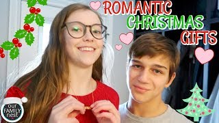 MOST ROMANTIC CHRISTMAS GIFTS