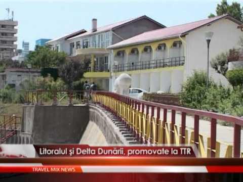 Litoralul si Delta Dunarii, promovate la TTR
