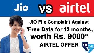 Reliance JIO File Complaint Against AIRTEL FREE 4G Data Offer 2017  TRAI