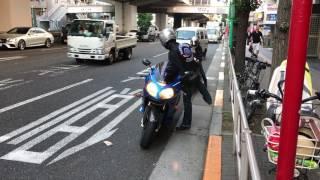 笹塚の美容室changer(シャンジェ)岡本様、お父様お嬢様 仲良くオートバイでご来店に感謝です!